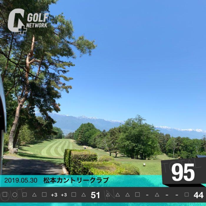 ゴルフコンペー松本カントリー