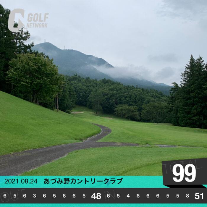 あづみ野カントリークラブ-20210831
